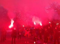 Під Офісом президента відбулась масштабна акція протесту через справу Катерини Гандзюк: фоторепортаж