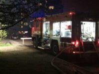 У Подільському районі сталася пожежа у 5-поверхівці