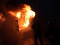 На вулиці Симиренка трапилася пожежа