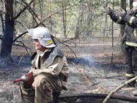 Рятувальники заливають торф'яники у Зоні відчуження на Київщині