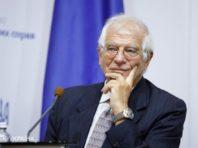 Боррель висловив лідеру Палестини стурбованість загостренням ситуацією в Секторі Газа