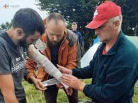 У Карпатах у групу туристів влучила блискавка: троє осіб поранено