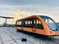 Унікальний вагончик українських розробників перемістили у столичний музей