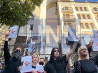 У Києві більше 100 осіб зібралось на акцію пам'яті Шишова біля посольства Білорусі