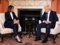 Тихановська провела зустріч з прем'єром Британії Джонсоном. Говорили про загибель Шишова в Україні
