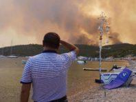 У Гідрометцентрі пояснили, як пожежі в Туреччині, Греції, Італії впливають на погоду в Україні