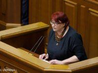 Комітет з етики рекомендував відсторонити Третьякову на п'ять засідань Ради