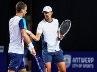 Український дует пробився до півфіналу тенісного турніру АТР в Бельгії